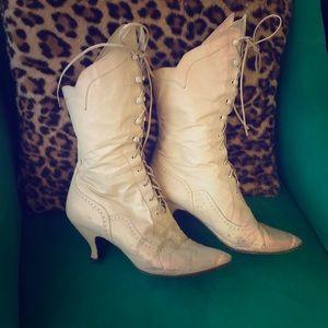 Vintage Peter Fox granny boots